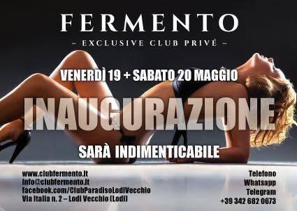 FERMENTO 2.0 L'INAUGURAZIONE