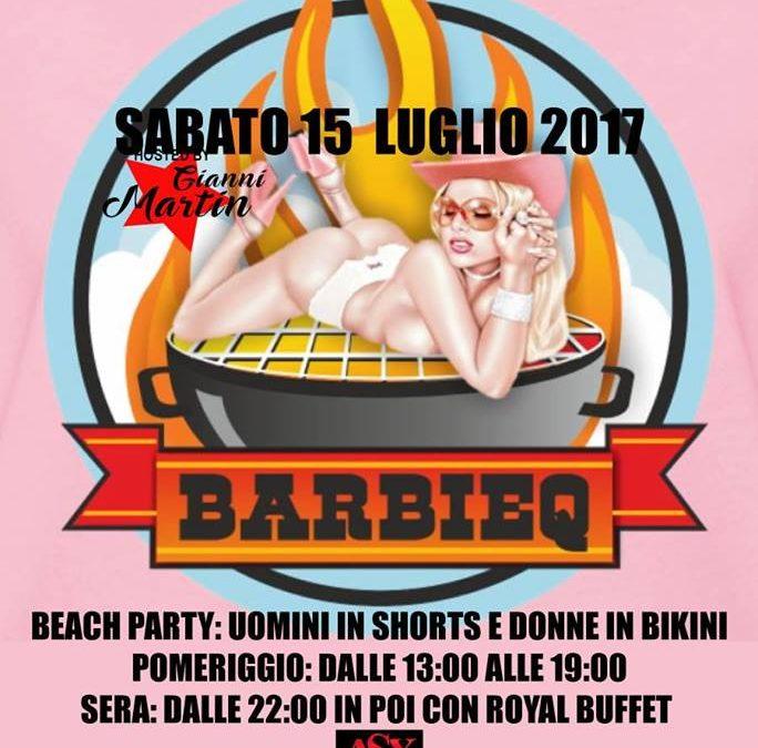 BARBlE-Q SABATO 15 LUGLIO FERMENTO CLUB PRIVE'