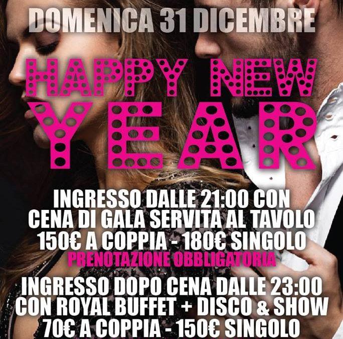 HAPPY NEW YEAR DOMENICA 31 DICEMBRE FERMENTO CLUB PRIVE'